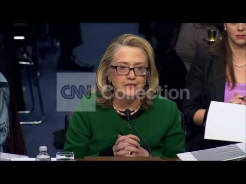 SEN BENGHAZI HRG:CLINTON-HONOR TO REPRESENT USA