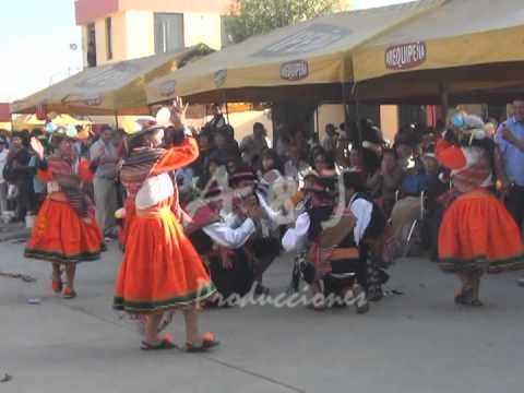 Cotahuasi danza Carnaval de Pampamarca
