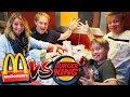 McDonalds vs. Burger King XXXL  🍔 🍔 🍔 Mega Challenge  🍔 🍔 🍔 TipTapTube 🙃