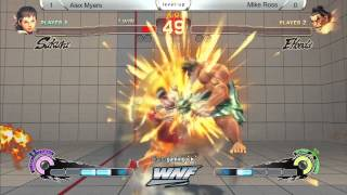 SSF4AE Alex Myers vs Mike Ross - WNF 1.5