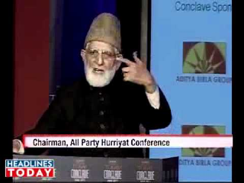 Geelani appeals for Kashmir freedom  India   India Today   Latest Breaking News from India  World  Business  Cricket  Sports  Bollywood  2