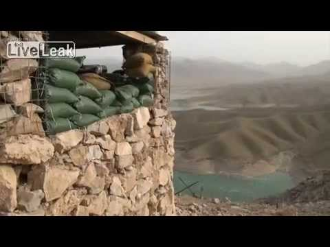 Observation Point Athens Overlooking Kajaki Dam In Helmand Afghanistan