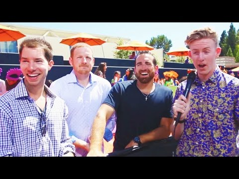 Dude Perfect Wants To Draft LeBron James! | Nick Kids' Choice Sports 2014