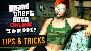GTA Online Guide - How to Make Money with Gunrunning DLC