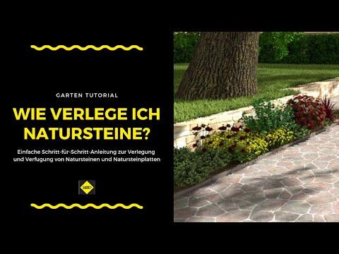 Naturstein / Natursteinplatten Und Polygonalplatten Verlegen Und Verfugen - SAKRET Heimwerker TV