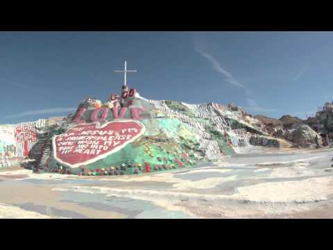 salvation mountain, Niland CA  Salton Sea
