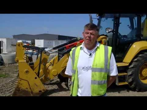 Cat® F2 Backhoe Loader Customer Story (United Kingdom)