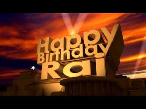 Happy Birthday Raj