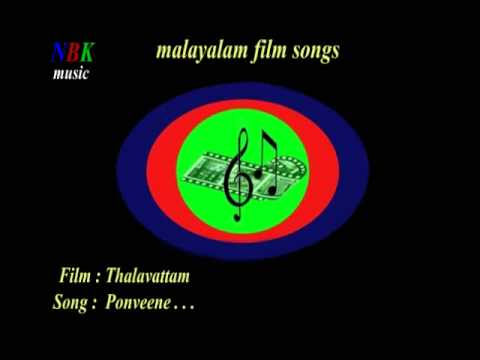 Ponveene . . .  Thalavattam  Malayalam Film Songs video