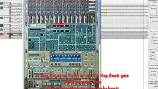 Producing with Reason Tutorial - Tutorial on Reason 4 basic Hip Hop Beat making - part 2 (4 parts) -