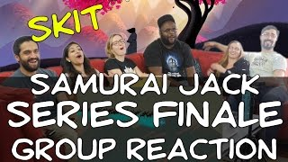 Samurai Jack - 5x10 CI Series Finale! - Group Reaction
