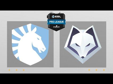 CS:GO - Liquid vs. Winterfox [Overpass] Map 1 - ESL Pro League Season 5 - NA Matchday 16