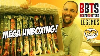 MEGA UNBOXING BBTS: Marvel Legends e Funko POP - Big Bad Toy Store X Toy Hunting?
