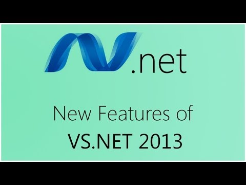 New Features Of Vs.net 2013 video