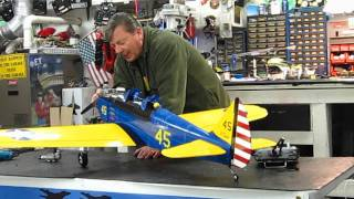 NitroPlanes PT-19 with ASP .61 4 Stroke Engine tips and maiden flight.
