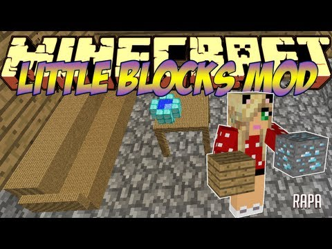 Minecraft Mods Showcase - Little Blocks Mod! (1.8) - 1.7.10 - 1.8.2