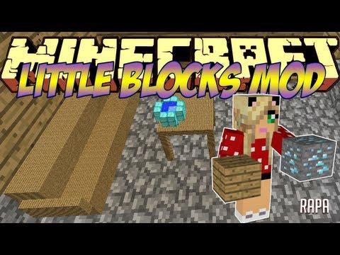 Minecraft Mods Showcase - Little Blocks Mod! (1.8) - 1.7.10 - 1.8.2