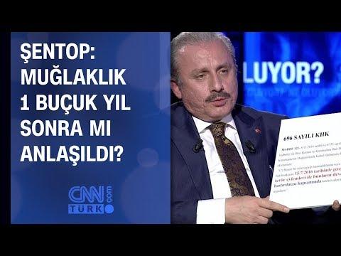 Mustafa Şentop: Muğlaklık 1 buçuk yıl sonra mı anlaşıldı?