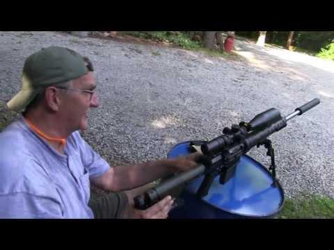 AR 10 Suppressed