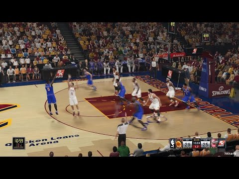 NBA 2K15 New York Knicks Vs Cleveland Cavaliers 30-10-2014
