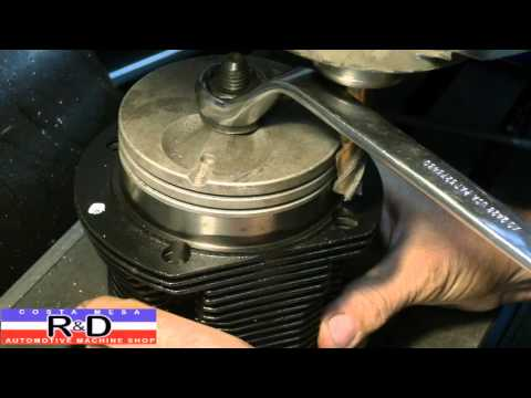 VW Cylinder Modification for Stud Clearance