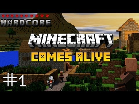 Hardcore Minecraft Comes Alive - Episode 1 - Best Seed Ever