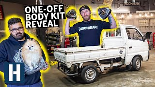 Who's Making Our Kei Truck's Custom Widebody Kit? And How to Feed a Fuel-Hungry Rotary