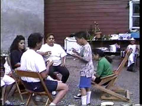 Silva Family Backyard Party 1991