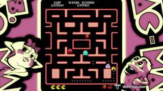 Let's Play (no talk) ARCADE GAME SERIES: Ms. PAC-MAN [PS4]