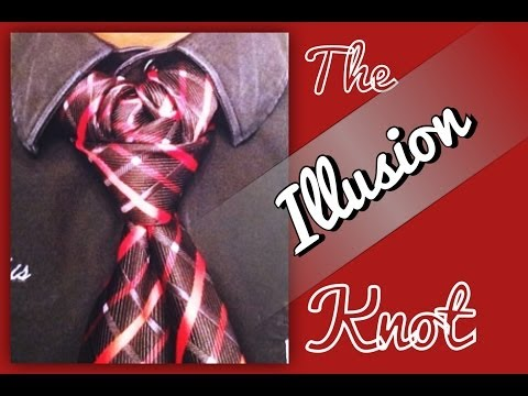 How to tie a tie:The Illusion Knot!