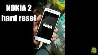 Nokia 2 hard reset and pattern unlock 2018