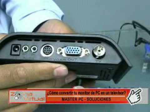 Tarjeta de television externa para tu monitor