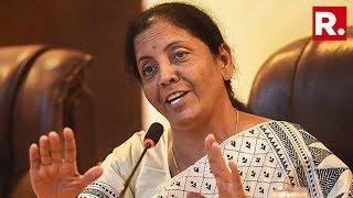 Defence Minister Nirmala Sitharaman Speaks To Media On #ForcesWarnPak