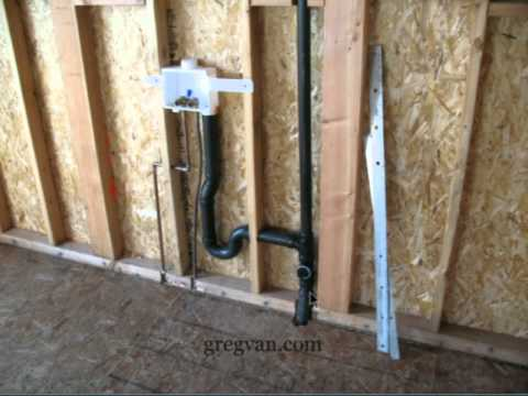 How To Keep Drain Pipes Away From Structural Wall Framing