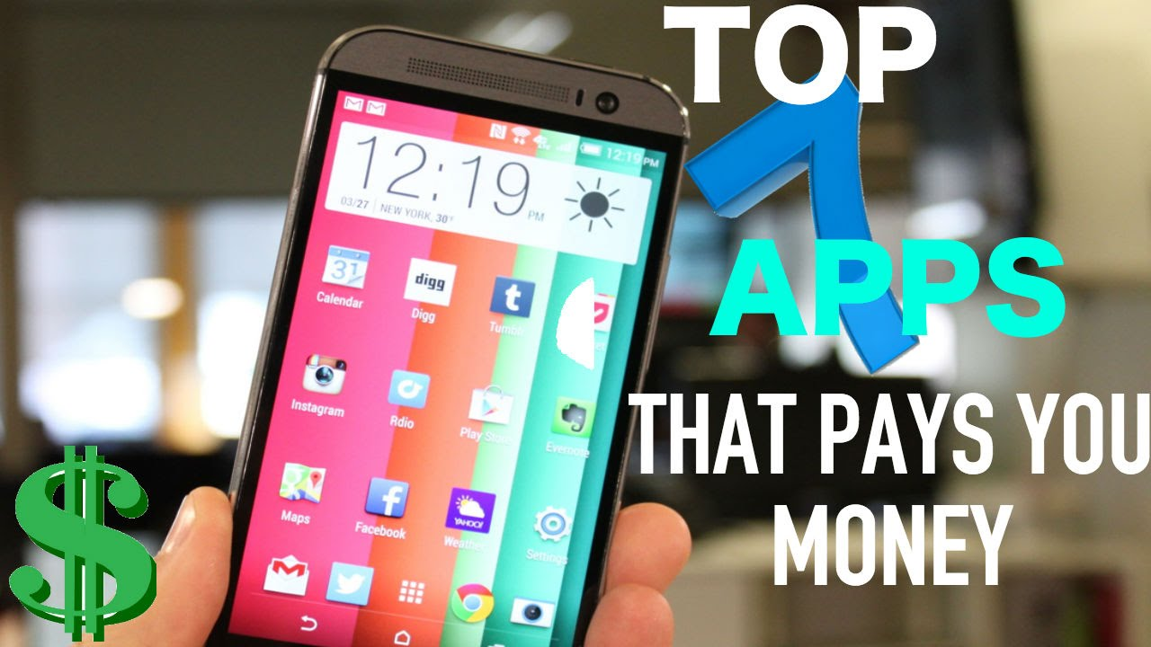 15 iPhone Apps That Pay You For Using Them Infographic