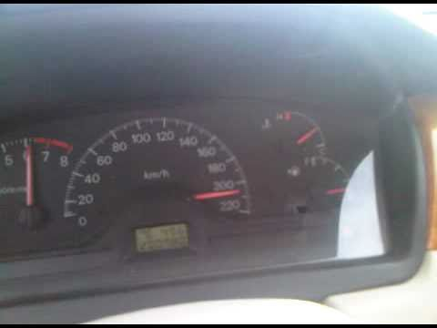 Mitsubishi Lancer Top Speed Test - YouTube