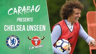 David Luiz Tries His Hand At Being A Goalkeeper & Didier Drogba Is Back At Cobham! | Chelsea Unseen