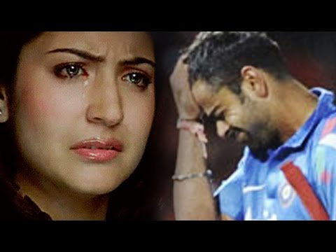 Anushka Sharma ABUSED for boyfriend Virat Kohli's FAILURE in World Cup 2015 Semi Finals