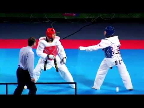 El Campeón Mundial De Taekwondo Uriel Adriano Motivacional video