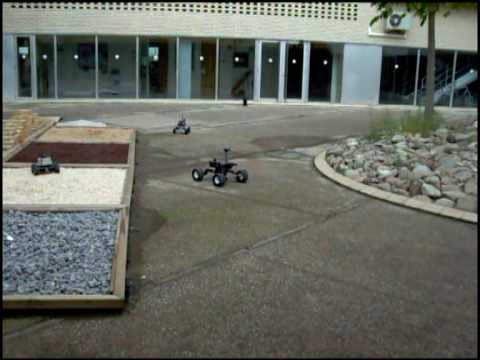 Rescue Robots from ARLab of University of Girona