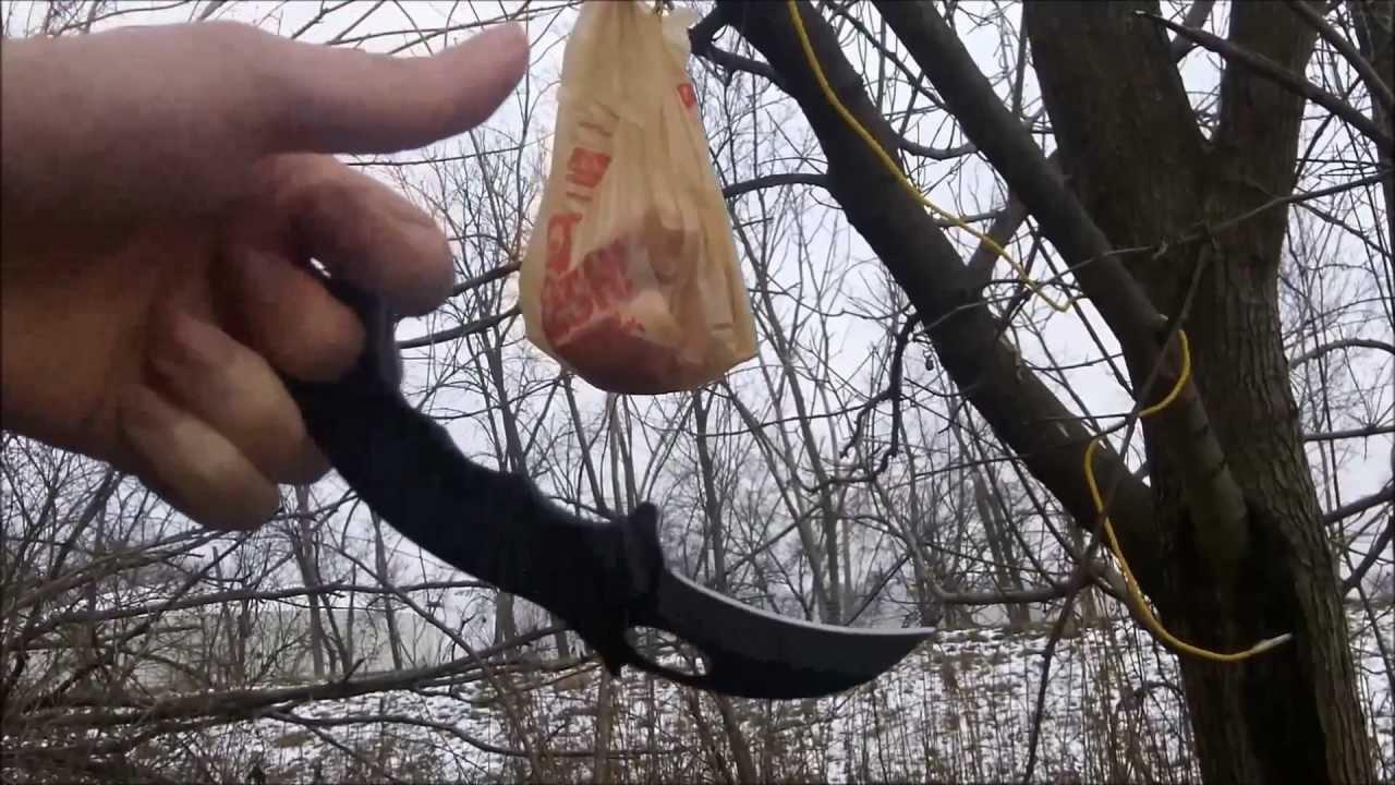 mantis grip jab honshu karambit cut test youtube