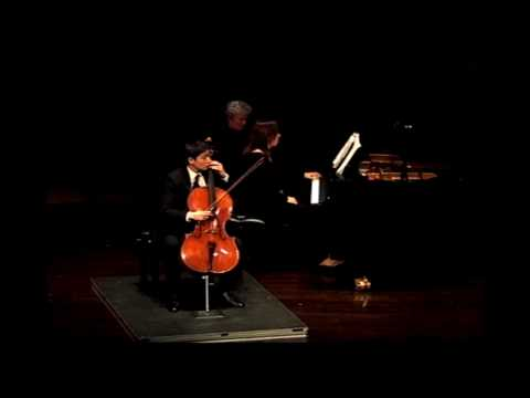 Debussy: Sonata for Cello and Piano, Mvt. II & III