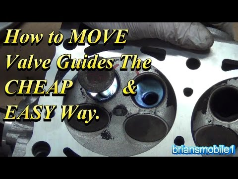How to MOVE Valve Guides the EASY Way