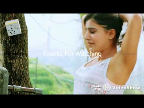 Samantha Cleavages  & bra slowmotion and repeated From 10 Enradhukulla_HD thumbnail