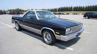 1984 Chevrolet El Camino Conquista Start Up, Exhaust, and In Depth Tour