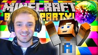 """ALI-A PARTY KING!"" - Minecraft BLOCK PARTY - w/ Ali-A #2!"