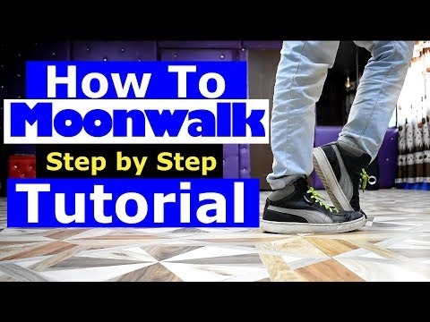 How to do Moonwalk in Hindi | Dance Tutorial step by step | Ajay Poptron | Dehradun