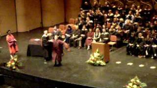Hilarious Graduation Walk