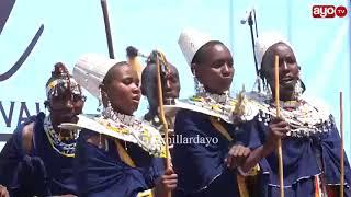 NGOMA ZA JADI! Kitu Wamasai wamefanya mbele ya Dr Tulia Mbeya