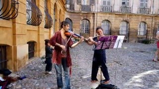 Street Musicians in Aix en Provence, France
